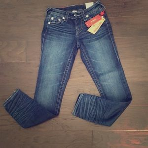 NWT True Religion Super Skinny Ankle Jeans 👖🏷